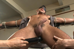 Tied up dude gets drilled and sucked off - XXX Dessert - Picture 2
