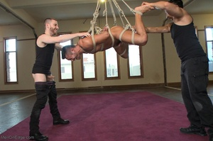 Tied up dude gets drilled and sucked off - XXX Dessert - Picture 9