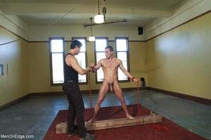 Young stud with a perfect body gets tied - XXX Dessert - Picture 6