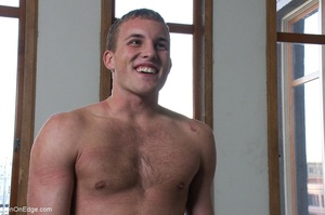 Young stud with a perfect body gets tied - XXX Dessert - Picture 16
