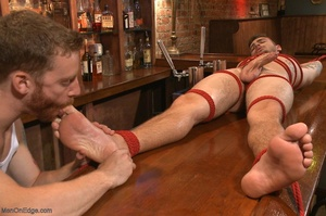 Handsome dude gets tied up and used by a - XXX Dessert - Picture 14