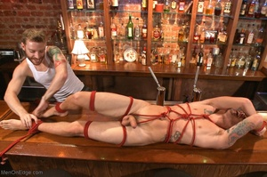 Handsome dude gets tied up and used by a - XXX Dessert - Picture 16