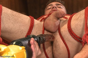 Handsome dude gets tied up and used by a - XXX Dessert - Picture 17