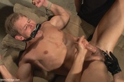 blonde dude gets tied