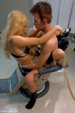 Dirty deeds are done in a dental chair a - XXX Dessert - Picture 10