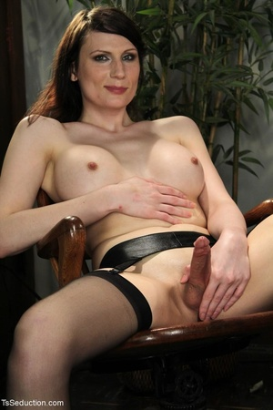 Tranny teacher does things with a male s - XXX Dessert - Picture 2