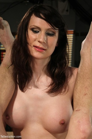 Tranny teacher does things with a male s - XXX Dessert - Picture 15