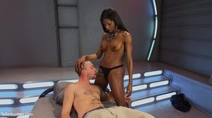 Hot interracial hookup includes an ebony - XXX Dessert - Picture 8