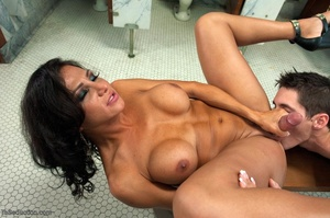 Dicks are out in a public bathroom when  - XXX Dessert - Picture 12