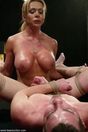 tantalizing t-girl and her