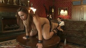 Ball-gagged submissive women must endure - XXX Dessert - Picture 17