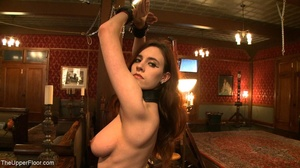 Demure, attractive slave is attached to  - XXX Dessert - Picture 1