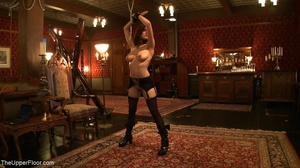 Demure, attractive slave is attached to  - XXX Dessert - Picture 2