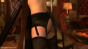 Demure, attractive slave is attached to  - XXX Dessert - Picture 5