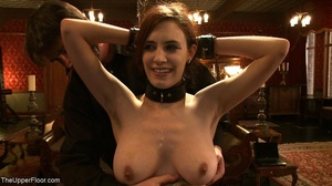 Demure, attractive slave is attached to  - XXX Dessert - Picture 11
