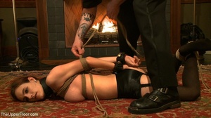 Demure, attractive slave is attached to  - XXX Dessert - Picture 13