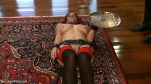 One lady sub holds a vibrator against th - XXX Dessert - Picture 2