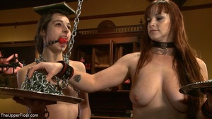 One lady sub holds a vibrator against th - XXX Dessert - Picture 5