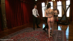 One lady sub holds a vibrator against th - XXX Dessert - Picture 7