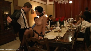 Dinner guests are dressed so divinely, b - XXX Dessert - Picture 2