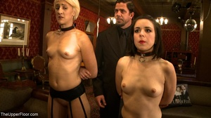 A trio of slutty slaves are subjected to - XXX Dessert - Picture 1