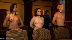 A trio of slutty slaves are subjected to - XXX Dessert - Picture 6