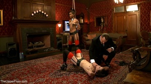 A trio of slutty slaves are subjected to - XXX Dessert - Picture 10