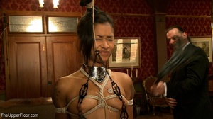 A trio of slutty slaves are subjected to - XXX Dessert - Picture 12