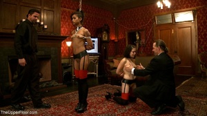 A trio of slutty slaves are subjected to - XXX Dessert - Picture 14