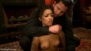 A trio of slutty slaves are subjected to - XXX Dessert - Picture 18