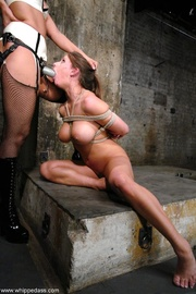 busty slave girl gets