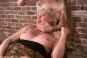 blonde submissive has follow
