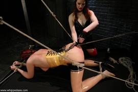 bondage, femdom, strapon, tied up