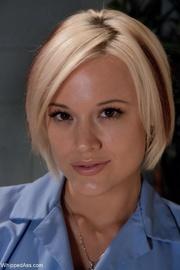 gorgeous blonde patient gets