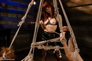 Well-shaped pornstar gets bound and tied - XXX Dessert - Picture 12