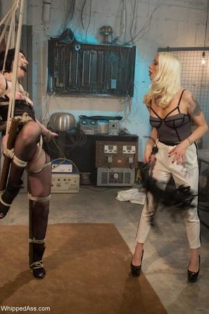 Blonde organizes crazy sexual experiment - XXX Dessert - Picture 8