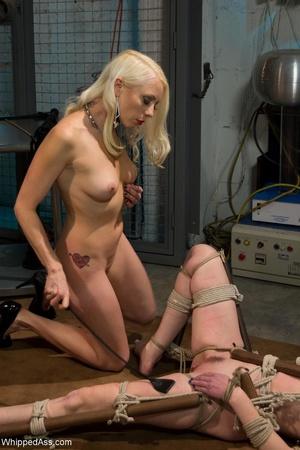 Blonde organizes crazy sexual experiment - XXX Dessert - Picture 14