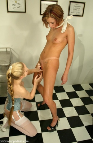 Lesbian scene with elements of sexual do - XXX Dessert - Picture 4
