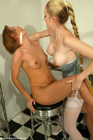 Lesbian scene with elements of sexual do - XXX Dessert - Picture 9