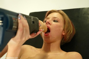 Lesbian scene with elements of sexual do - XXX Dessert - Picture 15