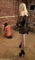 Two perverted dames have awesome fun in BDSM style