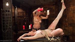 Amateur girl gets tortured by extravagan - XXX Dessert - Picture 12