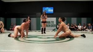 Super horny lesbian wrestlers want a hot - XXX Dessert - Picture 12