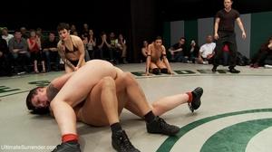 Super horny lesbian wrestlers want a hot - XXX Dessert - Picture 16