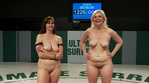 Curvy wrestling honeys are ready for fre - Picture 18