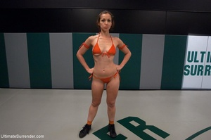 Fantastic lesbian wrestling sluts want t - XXX Dessert - Picture 1