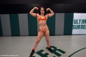 Fantastic lesbian wrestling sluts want t - XXX Dessert - Picture 2