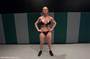 Fantastic lesbian wrestling sluts want t - XXX Dessert - Picture 3