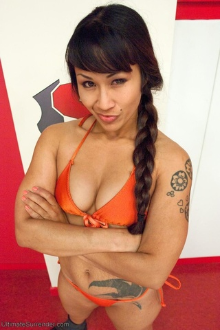 Fights girl surrender sexy hot and