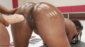 Chocolate-skinned BBWs are strong and pu - XXX Dessert - Picture 14